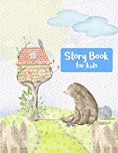 Story Book: For Kids To Doodle Draw And Write Stories Large Half Blank/Half Lined Pages (8.5
