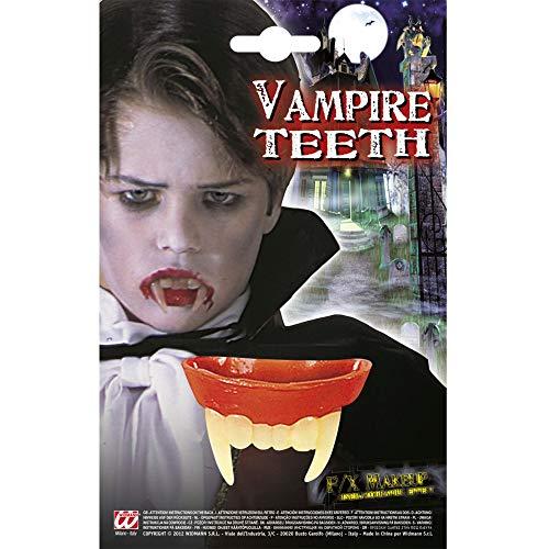 Widmann Denti da Vampiro per Bambino, Multicolore, Taglia Unica, 4089B
