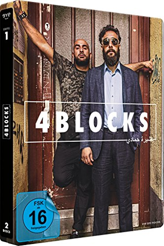 4 Blocks (2 Discs-Steelbook – die komplette 1. Staffel) – (exklusiv bei Amazon.de) [Limited Edition] [Blu-ray]