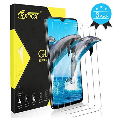 CRXOOX Cristal Templado para Oneplus 6T / Oneplus 7, [3 Pack] Protector de Pantalla Vidrio Templado Screen Protector Transparente, 3D Touch Compatible Y 9H Dureza, Fácil Instalación y Sin Burbuja