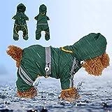 Zoom IMG-1 impermeabile per animali giacca cani