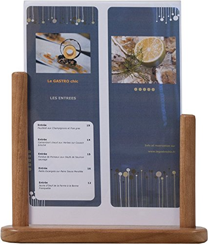 Securit table en teck taille poster frame: a4