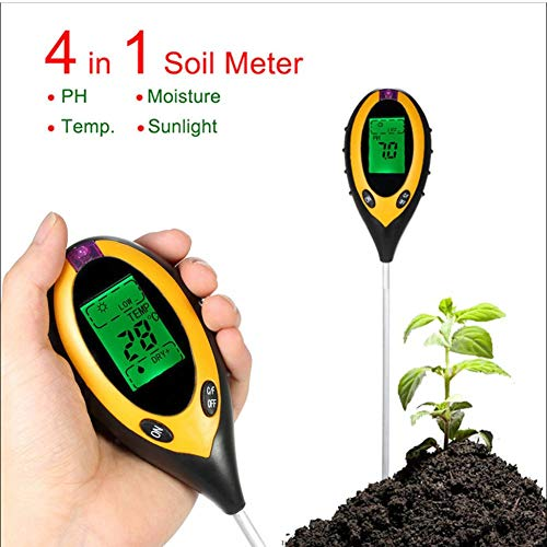 Big Save! Moisture Meter for Potted Plants, Soil pH Meter, 4 in 1 Multifunctional Soil Tester, S...
