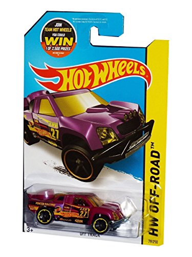 Hot Wheels, 2015 HW Off-Track [Purple] Die-Cast Vehicle #79/250
