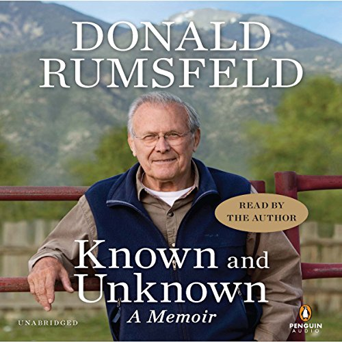 Known and Unknown audiobook cover art