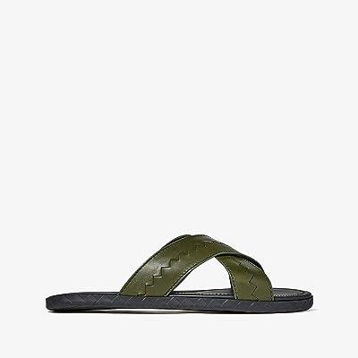Bottega Veneta Crossover Sandal (Borneo) Men