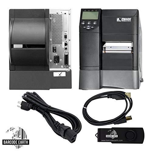 Zebra ZM400 Thermal Barcode Printer Parallel/Serial/USB/ENet ZM400-2001-0100T (Renewed)