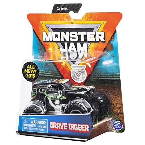 MJ 2019 Monster Jam Overcast Grave Digger