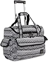 J World New York Donna Rolling Travel Tote, Tribal, One Size