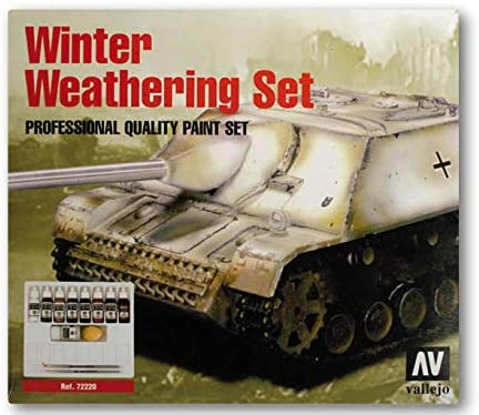 New product type Vallejo Model Color Weathering Set + Winter 9 72220 Animer and price revision