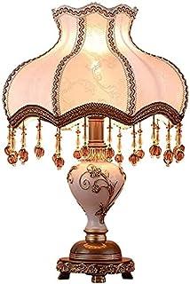 Lampe de Table Lampe de table de style européen Lampe de chevet de chambre à coucher Lampe de table de chevet de luxe simp...