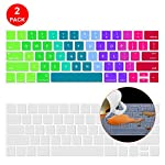 Lapogy MacBook Pro 16 inch Keyboard Cover with MAC OS Shortcut Hot Keys,Pro 13 inch 2020(A2289/A2251),Pro 16 inch 2019… 15 Only Compatible with Apple Macbook Pro 16 inch with Touch ID. Not compatible with other MacBook model. Made of premium grade transparent silicone that allows keyboard backlight to shine through High precision molding, extreme fit closely to original key, giving unparalleled typing response.