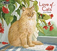 LANG Love of Cats 2022 壁掛けカレンダー (22991001926)