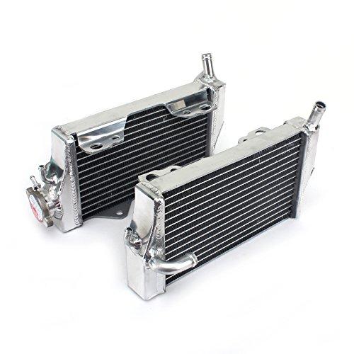 TARAZON Moto Radiador Enfriamiento de Aluminio para H.o.n.d.a CR250R CR 250 R 2002 2003 2004 2005 2006 2007, refrigeración del motor