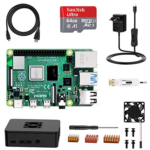 Raspberry Pi 4 2Gb raspberry pi 4  Marca NinkBox