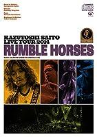"""KAZUYOSHI SAITO LIVE TOUR 2014 """"RUMBLE HORSES""""Live at ZEPP TOKYO 2014.12.12 (CD初回限定盤)"""