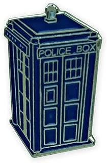 TARDIS Pin, blue, 1