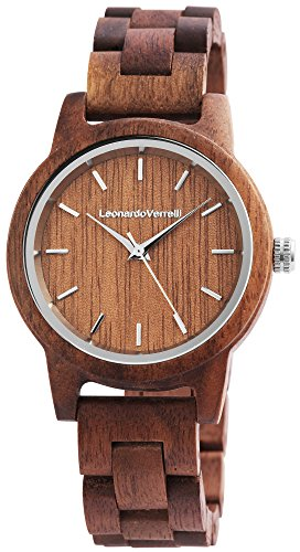 Leonardo Verrelli Armbanduhr LV0018 Analog Dunkelbraun 2800025-002