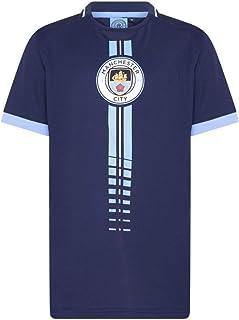 Morefootballs - Offizielles Manchester City Trikot für Kinder - 2020/2021 - Man City Kurzarm Shirt - Trikot für Fussbal Training