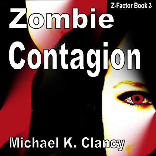 Zombie Contagion audiobook cover art