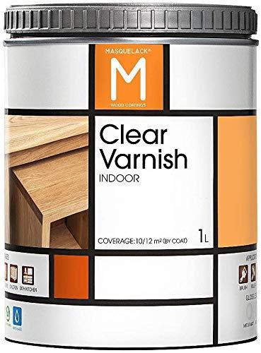 Vernis pour bois | Clear Varnish | 1 Litre | Pour tous les types de bois |...
