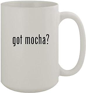 got mocha? - 15oz Ceramic White Coffee Mug, White