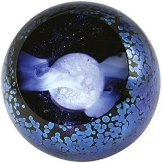 Glass Eye Studio Full Moon Paperweight