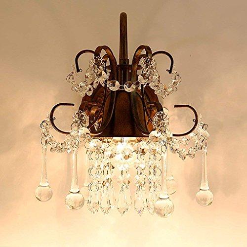 DSJ Crystal wandlamp woonkamer nachttafelspiegel lamp Jane Europa gang gang lamp slaapkamer romantische wandlamp, BBB