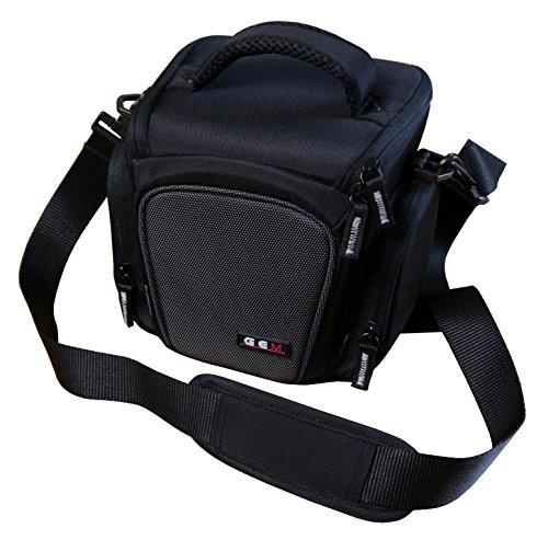Gem, carga superior funda para cámara Nikon Coolpix B500, B700, accesorios