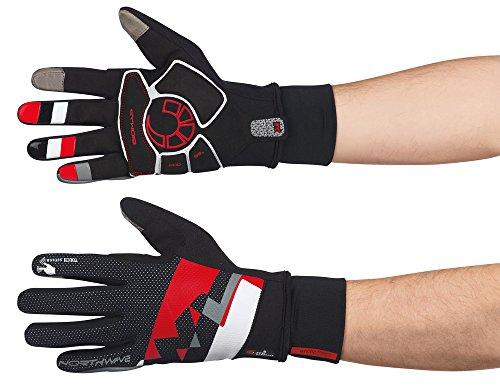 Northwave x-Cellent guantes de ciclismo colour negro Largo/rojo 2015, color , tamaño L (9)