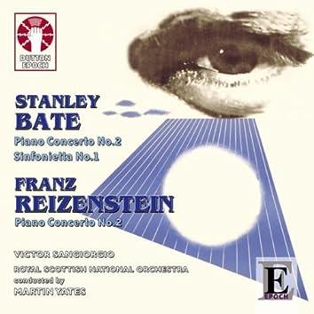 Stanley Bate & Franz Reizenstein: Piano Concertos