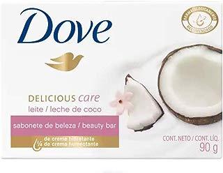Sabonete em Barra Uso Diário 90G Leite de Coco Unit, Dove