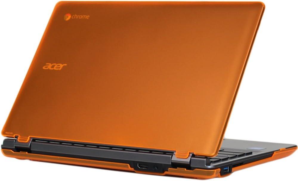 mCover Orange Hard Shell Case for 11.6