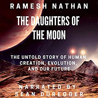 The Daughters of the Moon audiobook cover art