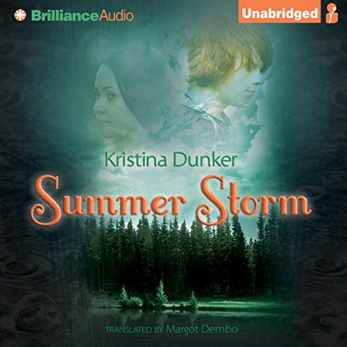 Summer Storm audiobook cover art
