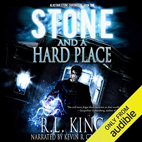 Stone and a Hard Place audiobook cover art