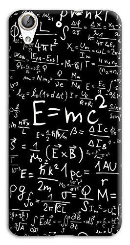 Mixroom - Cover Custodia Case in TPU Silicone Morbida per Huawei Ascend Y6 II 2 M745 Formule Algebriche di Matematica