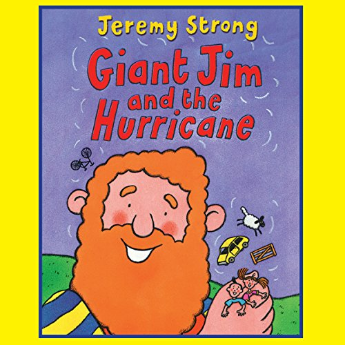 Giant Jim and the Hurricane audiobook cover art