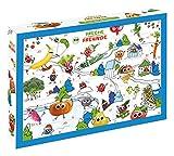 FRECHE FREUNDE Bio Adventskalender, Weihnachtskalender gefüllt mit Bio Kinder-Snacks & Spaß, ohne Industriezucker, ideal für Kinder, 2200 g
