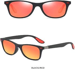 2e67b1d549 Wang-RX Gafas de sol polarizadas Hombres Mujeres que conducen el marco  cuadrado Gafas de