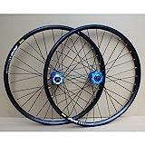 GXFWJD 24 Inch BMX Rim Bike Wheelset Disc Brake Bicycle Wheel 32H 8-10 Speed Cassette Sealed Bearing Hubs 72T QR (Color : C-Black, Size : 24inch)
