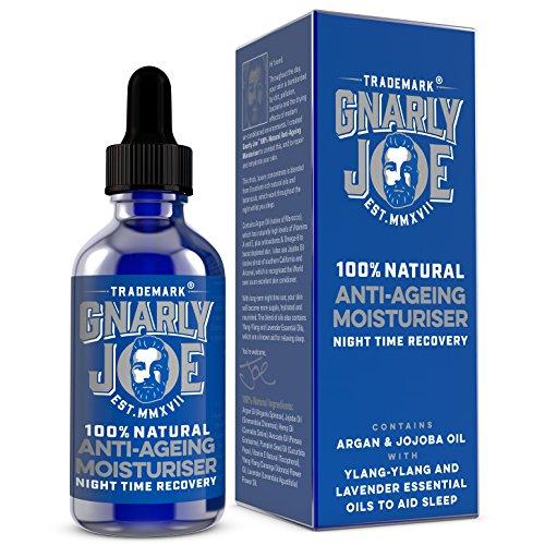 Gnarly Joe Anti-Ageing Moisturiser for Men. Night Time Recovery, 50 ml