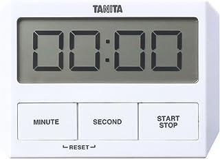 タニタ キッチン タイマー 吸盤付き 薄型 ホワイト TD-409 WH ガラスにつくタイマー
