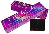 Tintes Profesionales SIN AMONIACO y libre de PPD y MEA - 4.55- Castaño Medio Caoba Rojo - NEALA 100ml.