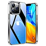 TORRAS Diamond Series Kompatibel mit iPhone 13 Pro Max Hülle Transparent (Vergilbungsfrei)...