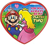 Super Mario 'You Will Always Be My Player Two' Heart Tin
