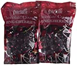 Chocolate Covered Bing Cherries - 24oz Pouch - by Dilettante (2 Pack)