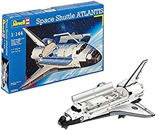 Revell- Space Shuttle Atlantis NASA, Kit de Modelo, Escala 1:144 (4544) (04544)