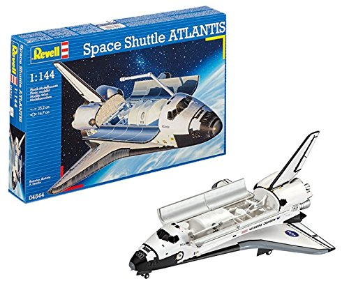 Revell Space Shuttle Atlantis NASA, Kit de Modelo, Escala 1: