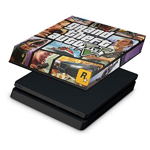 Capa Anti Poeira para PS4 Slim - GTA V